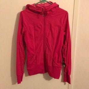 Pink lululemon reversible jacket EUC